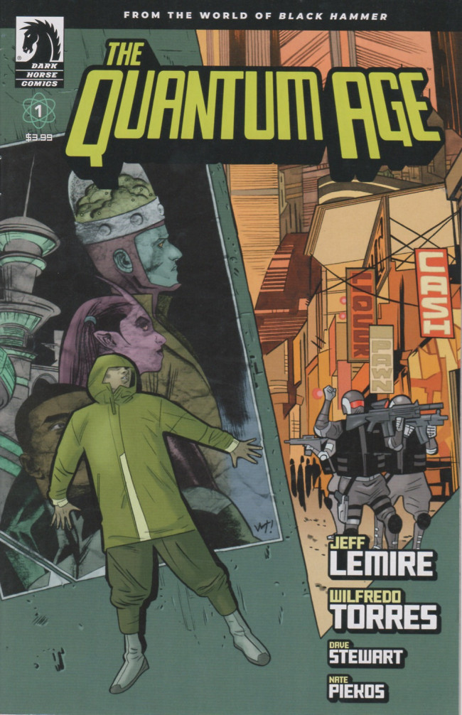 Couverture de Quantum Age (The) -1- Issue #1