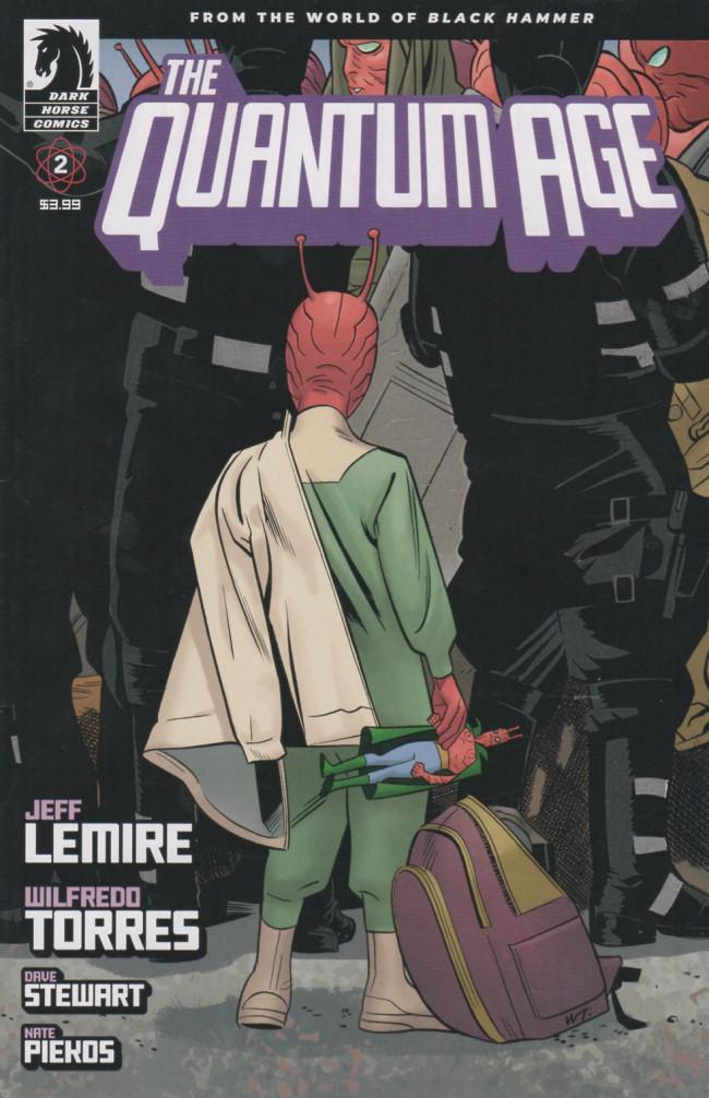 Couverture de Quantum Age (The) -2- Issue #2