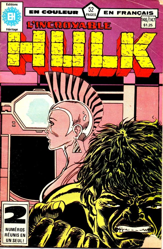 Couverture de L'incroyable Hulk (Éditions Héritage) -146147- Tout en suspens!