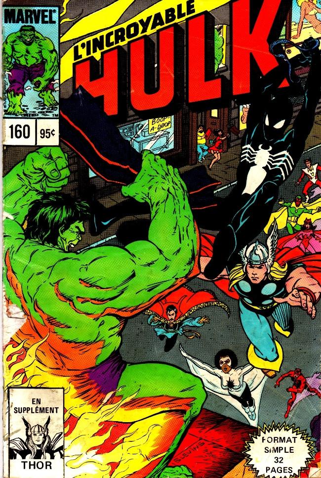 Couverture de L'incroyable Hulk (Éditions Héritage) -160- Jours de rage (2/2)