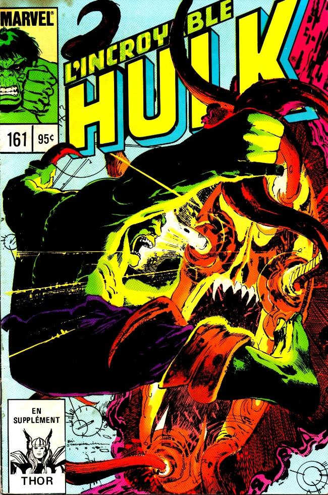 Couverture de L'incroyable Hulk (Éditions Héritage) -161- Vous êtes à un carrefour!