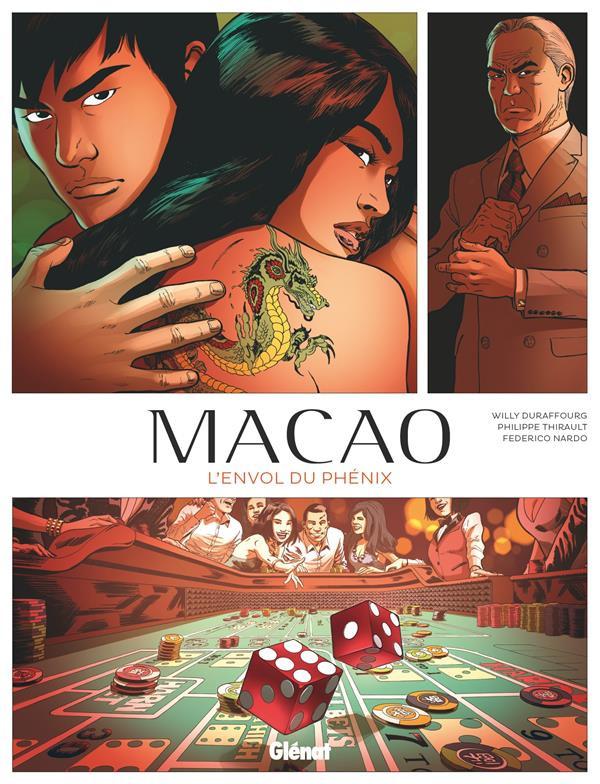 Couverture de Macao (Thirault/Duraffourg/Nardo) -2- L'Envol du phénix