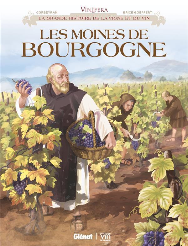 Couverture de Vinifera -2- Les moines de Bourgogne