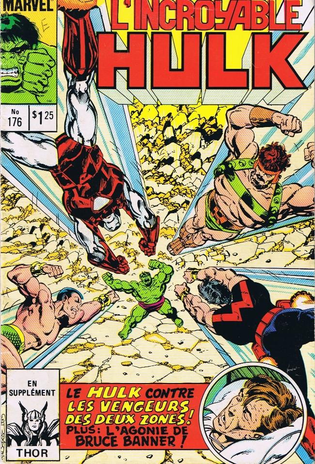 Couverture de L'incroyable Hulk (Éditions Héritage) -176- Champ de bataille