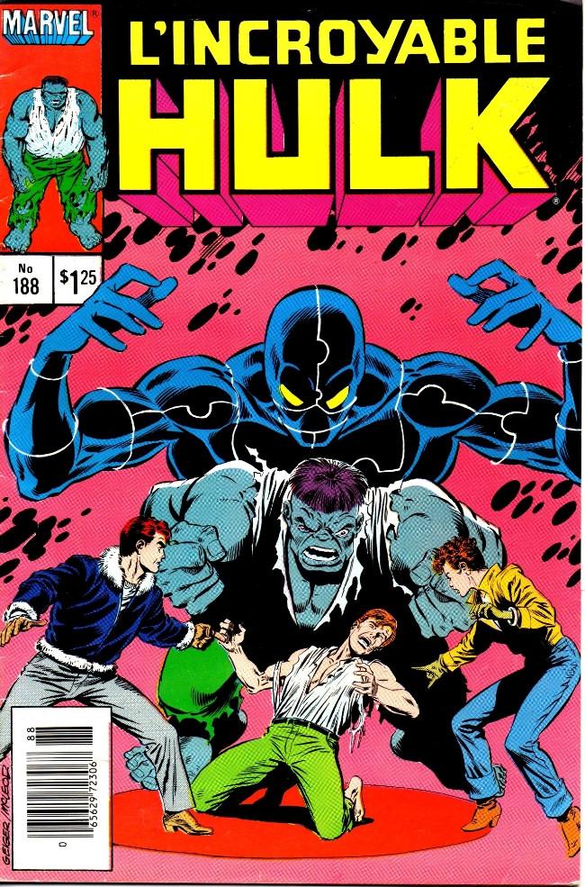 Couverture de L'incroyable Hulk (Éditions Héritage) -188- L'esprit tranquille