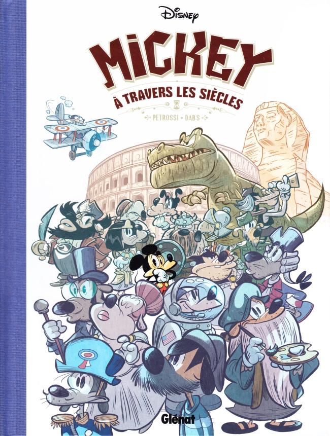 Couverture de Mickey (collection Disney / Glénat) -8- Mickey à travers les siècles