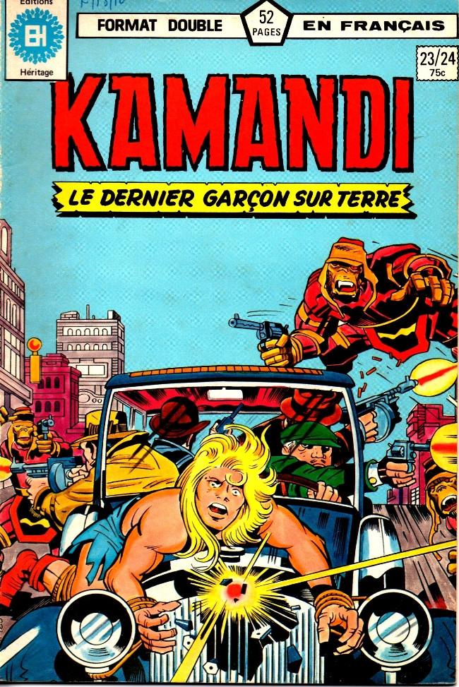 Couverture de Kamandi (Éditions Héritage) -2324- Mangeur!!!