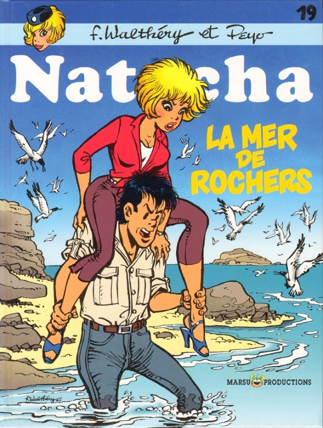 Couverture de Natacha -19- La mer de rochers