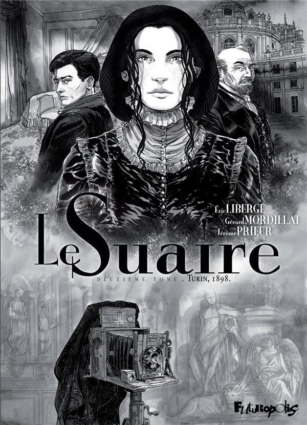 Couverture de Le suaire -2- Turin 1898