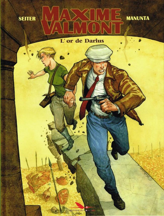 Couverture de Maxime Valmont -2- L'or de Darius