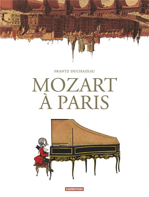 Couverture de Mozart à Paris