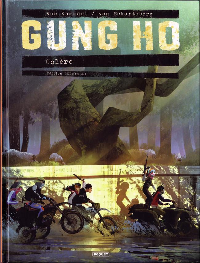 Couverture de Gung Ho -4TL4.1- Colère - Édition DELUXE #4.1