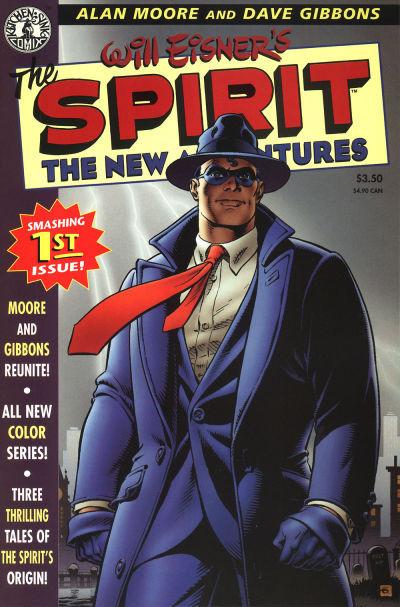 Couverture de Spirit: The New adventures (1998) -1- The Spirit: The New Adventures #1