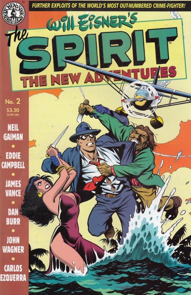 Couverture de Spirit: The New adventures (1998) -2- The Spirit: The New Adventures #2