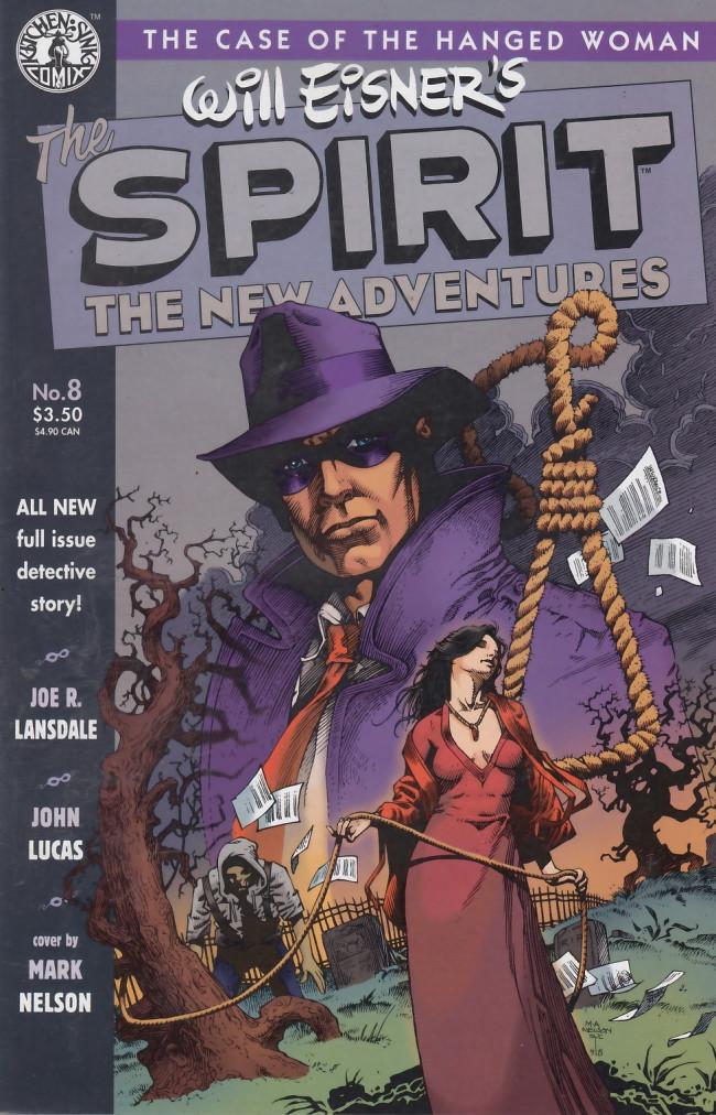 Couverture de Spirit: The New adventures (1998) -8- The Spirit: The New Adventures #8