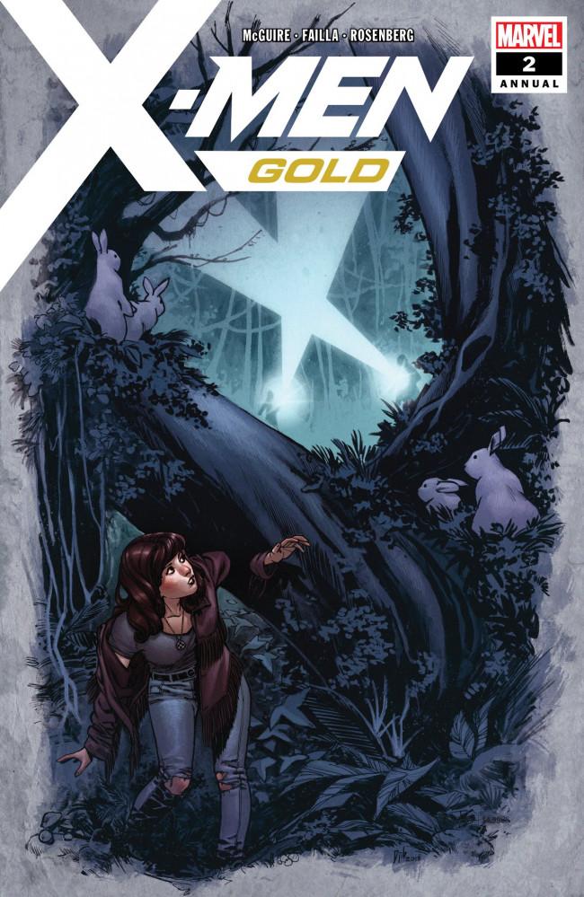 Couverture de X-Men: Gold (2017) -AN02- Into The Woods
