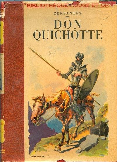 Couverture de (AUT) Calvo - Don quichotte