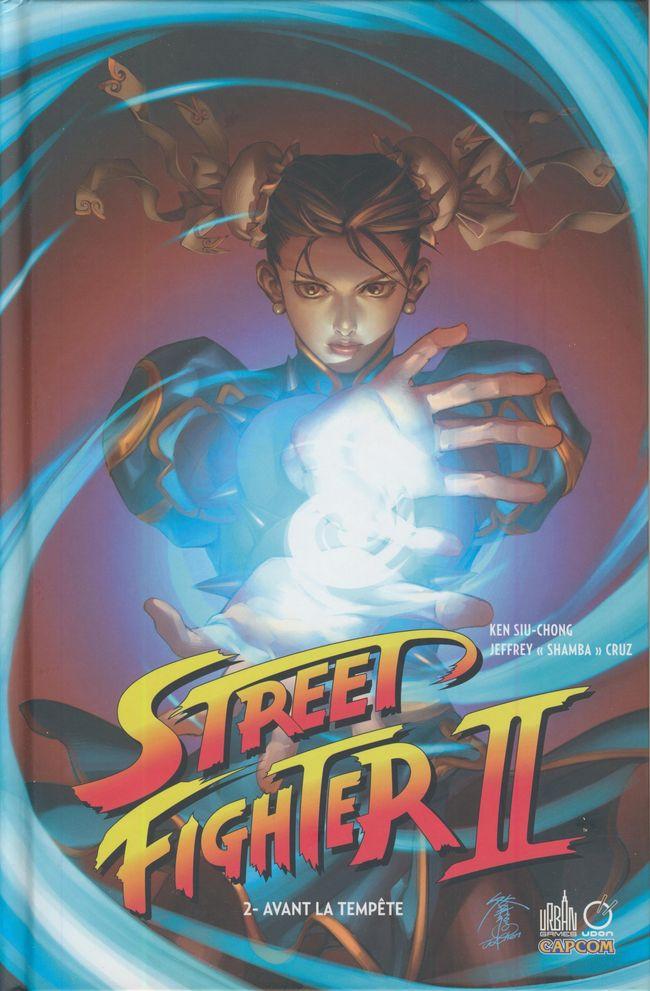 Couverture de Street Fighter II (Urban Comics) -2- Avant la tempête