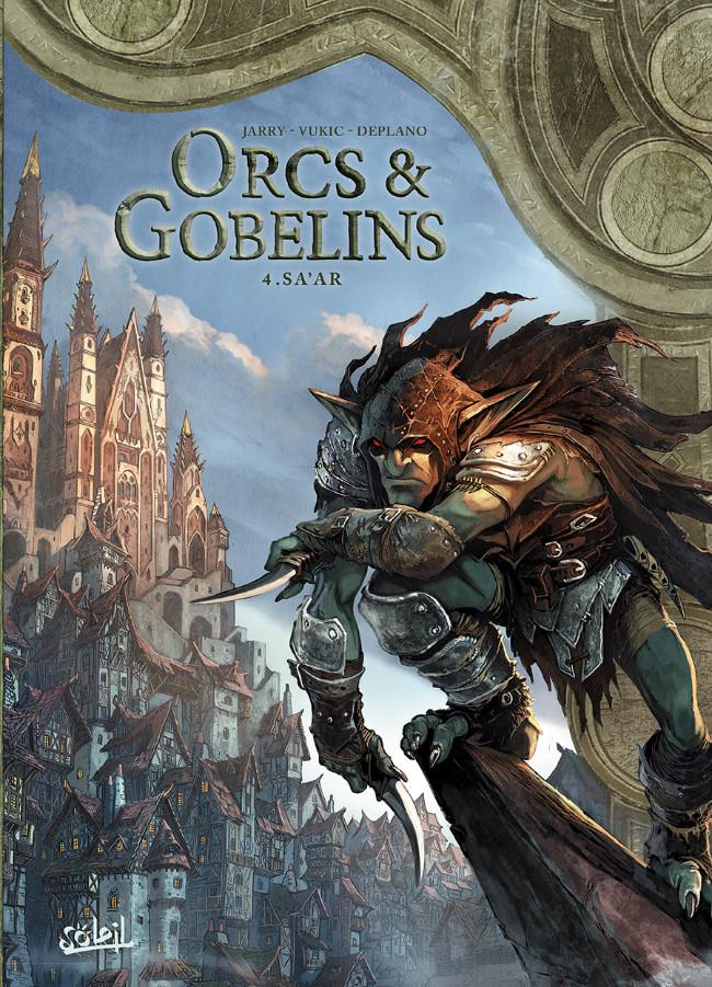Couverture de Orcs & Gobelins -4- Sa'ar