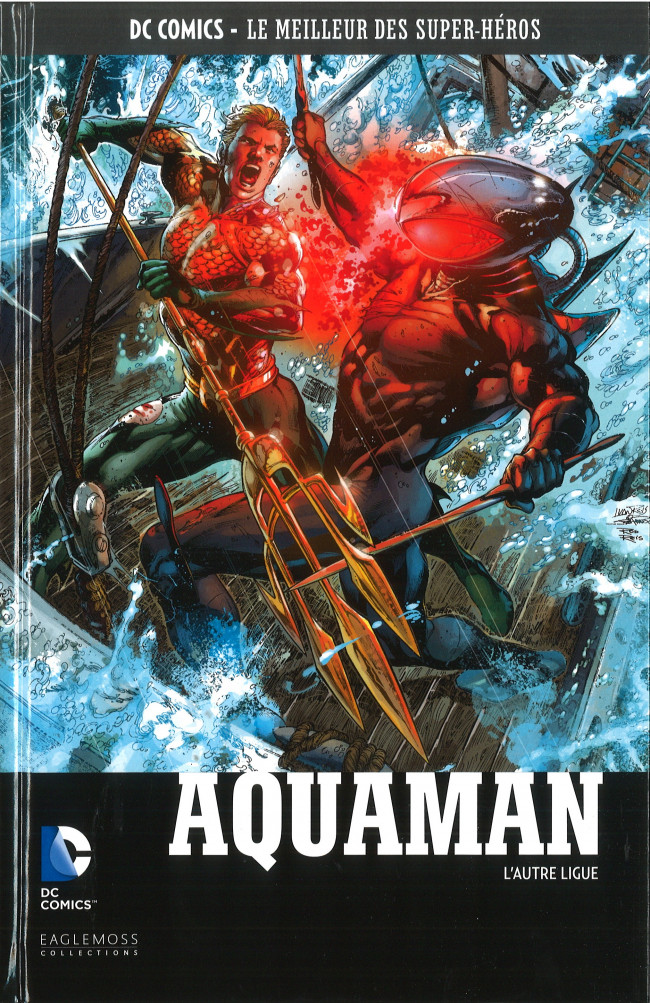 Couverture de DC Comics - Le Meilleur des Super-Héros -77- Aquaman - L'Autre Ligue