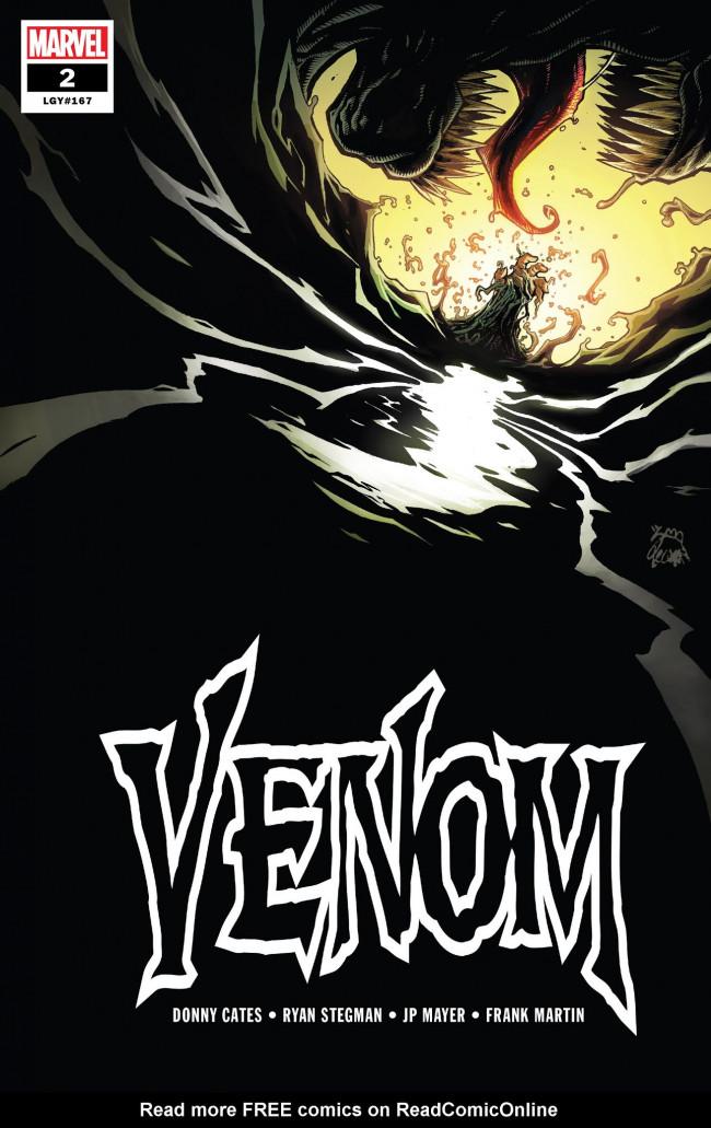 Couverture de Venom Vol. 4 (Marvel comics - 2018) -2- Issue #2