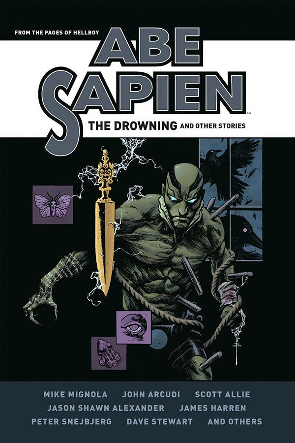 Couverture de Abe Sapien (2008) -INTHC3- Abe Sapien: The Drowning and Other Stories
