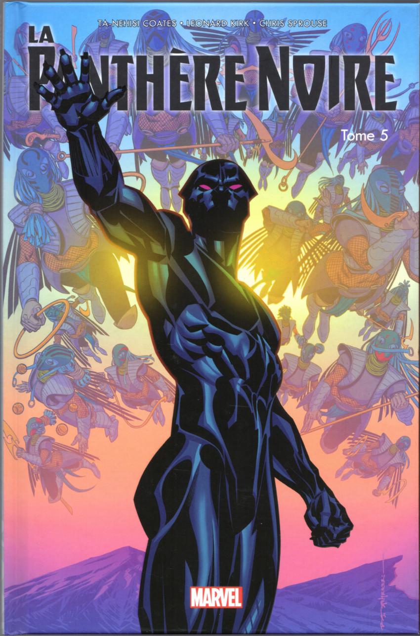 Couverture de La panthère Noire (100% Marvel - 2017) -5- Vengeurs du Nouveau Monde (II)