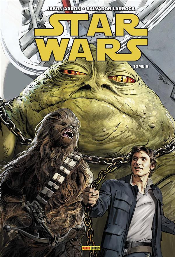 Couverture de Star Wars (Panini Comics - 100% Star Wars) -6- Des rebelles naufragés