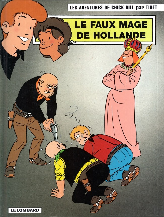 Couverture de Chick Bill -5666- Le Faux Mage de Hollande