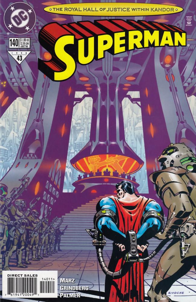 Couverture de Superman (1987) -140- A City Against Them