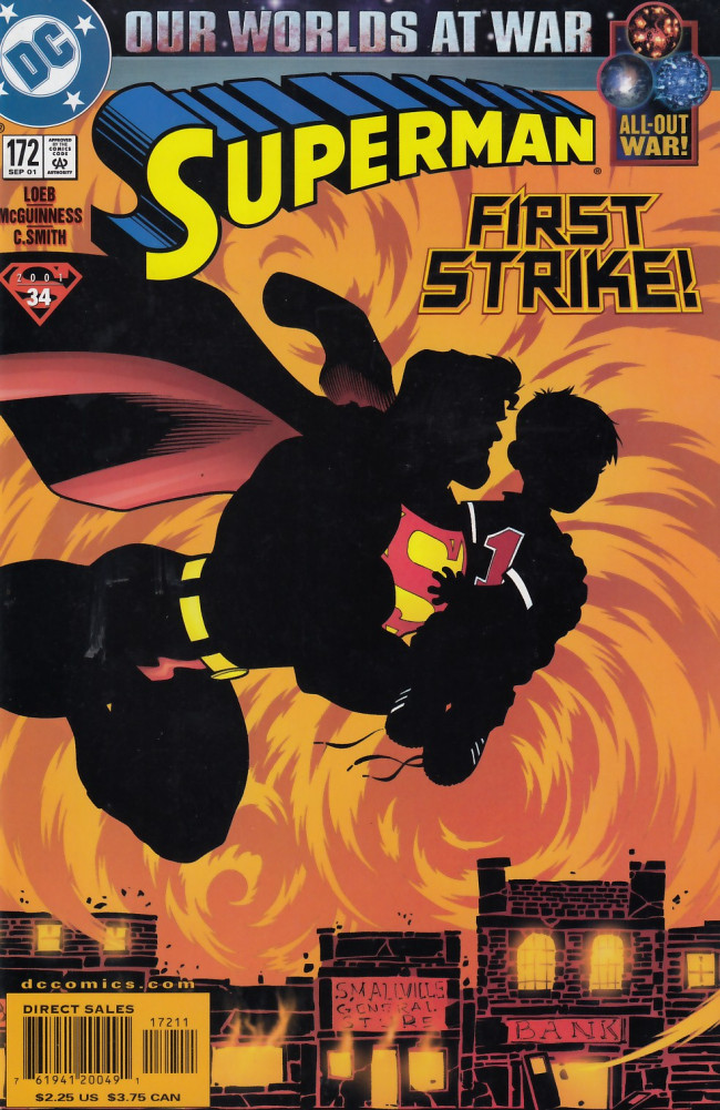 Couverture de Superman Vol.2 (DC comics - 1987) -172- Death Be Not Proud