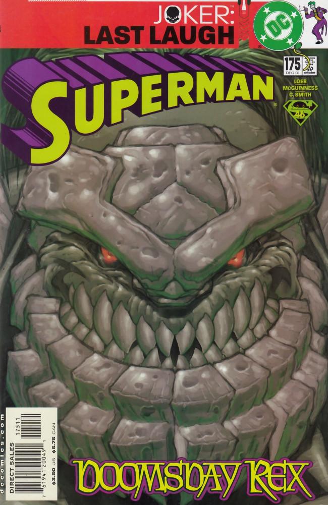Couverture de Superman (1987) -175- Doomsday Rex