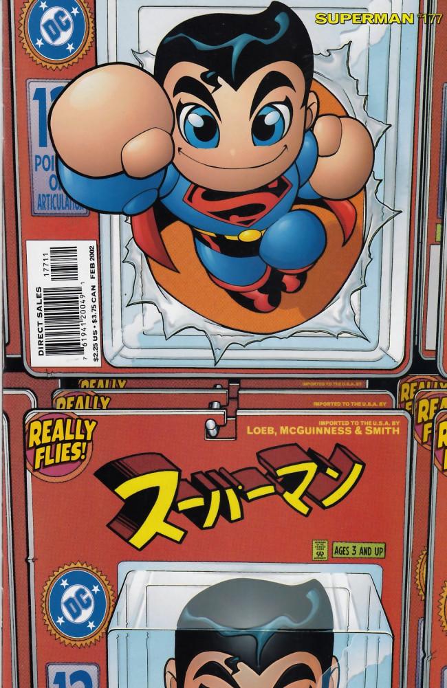 Couverture de Superman Vol.2 (DC comics - 1987) -177- Metropolis E-mail Bag