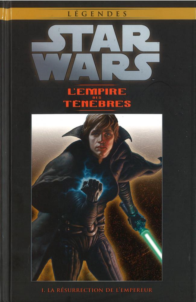 Couverture de Star Wars - Légendes - La Collection (Hachette) -7273- L'Empire des Ténèbres