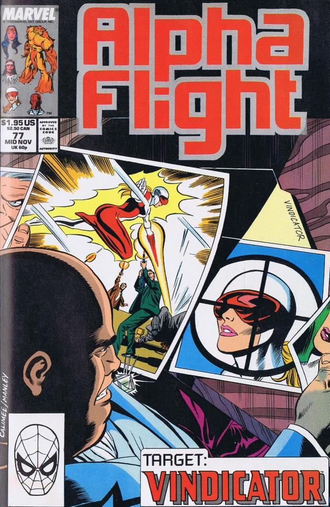 Couverture de Alpha Flight (Marvel comics - 1983) -77- Shattered Design