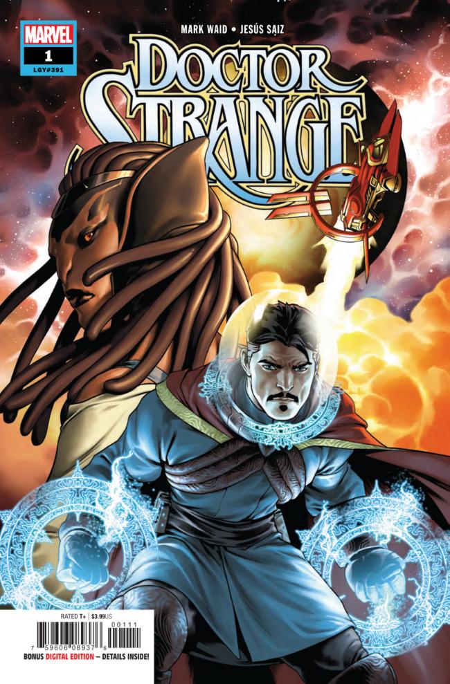 Couverture de Doctor Strange (2018) -1- Sorcerer Supreme of the Galaxy Part One