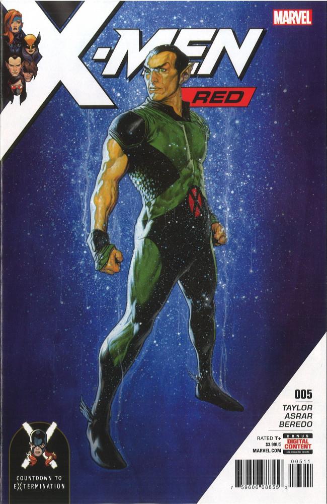 Couverture de X-Men: Red (2018) -5- Part 5: The Truth