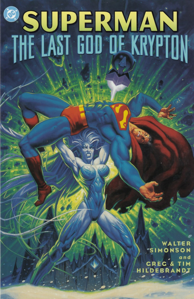 Couverture de Superman (One shots - Graphic novels) -OS- Superman: The Last God of Krypton