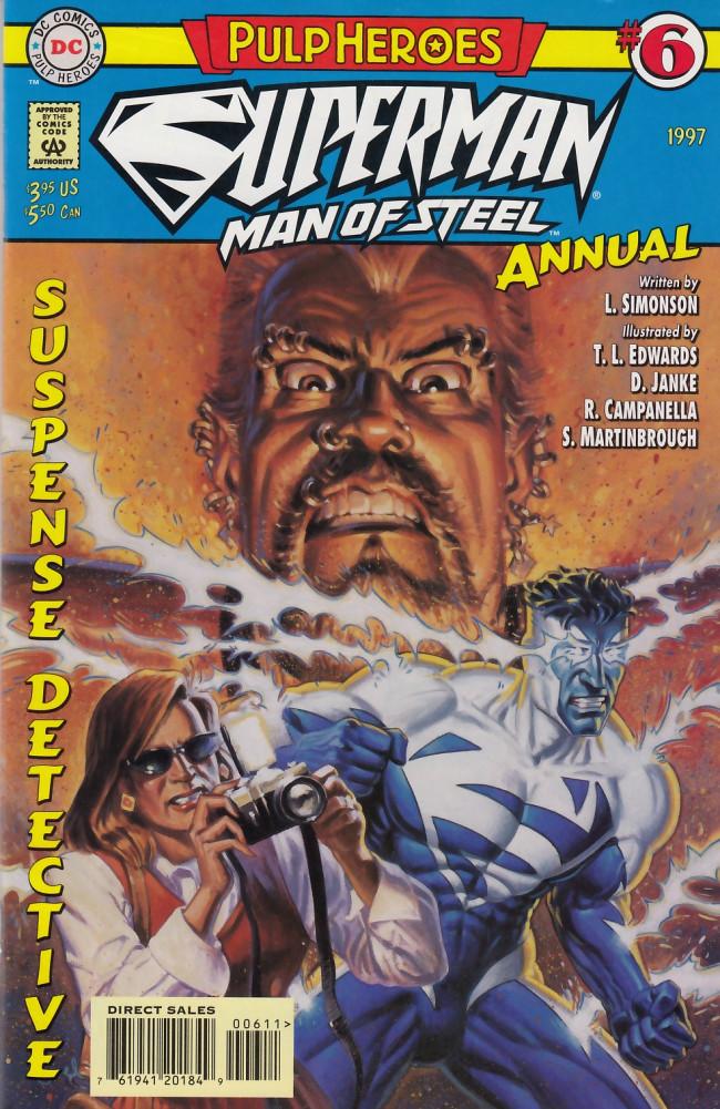 Couverture de Superman: The Man of Steel Vol.1 (DC comics - 1991) -AN06- Pierced