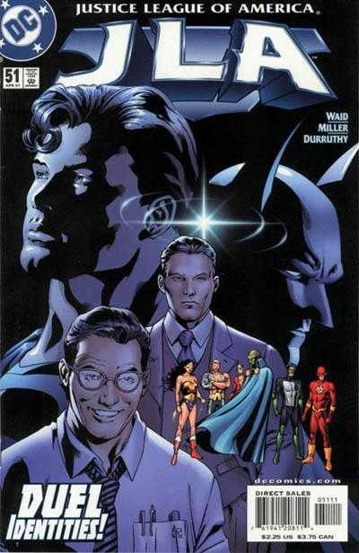 Couverture de JLA (1997) -51- Man and Superman