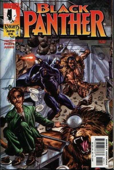 Couverture de Black Panther Vol.3 (Marvel - 1998) -6- Hunted