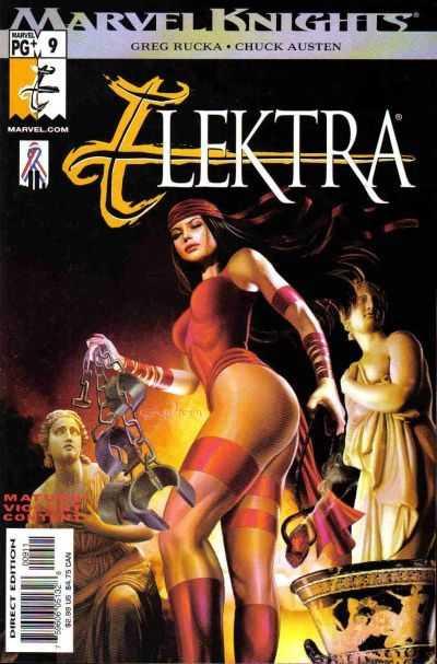 Couverture de Elektra (2001) -9- Issue 9