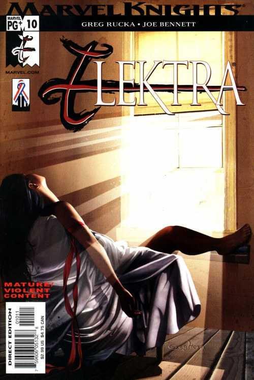 Couverture de Elektra (2001) -10- Unemployment