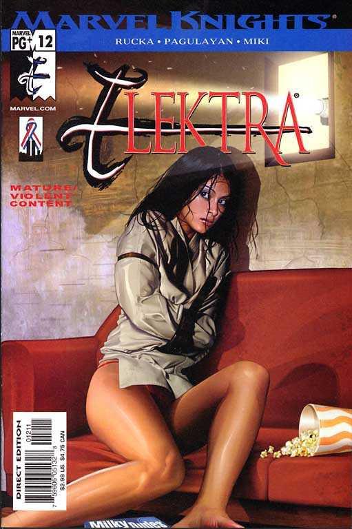 Couverture de Elektra (2001) -12- Introspect Part 2