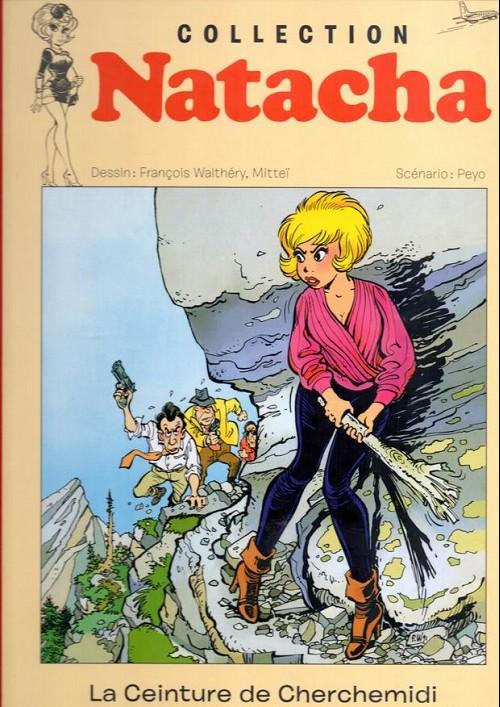 Couverture de Natacha - La Collection (Hachette) -15- La ceinture de cherchemidi