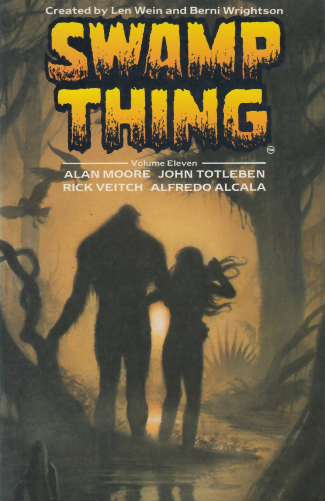 Couverture de Swamp Thing (1982) (Titan Books) -INT11- Swamp Thing Volume Eleven