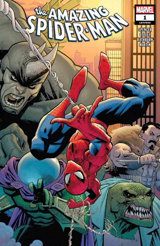 Couverture de Amazing Spider-Man (The) (2018) -1- Back To Basis Part 1