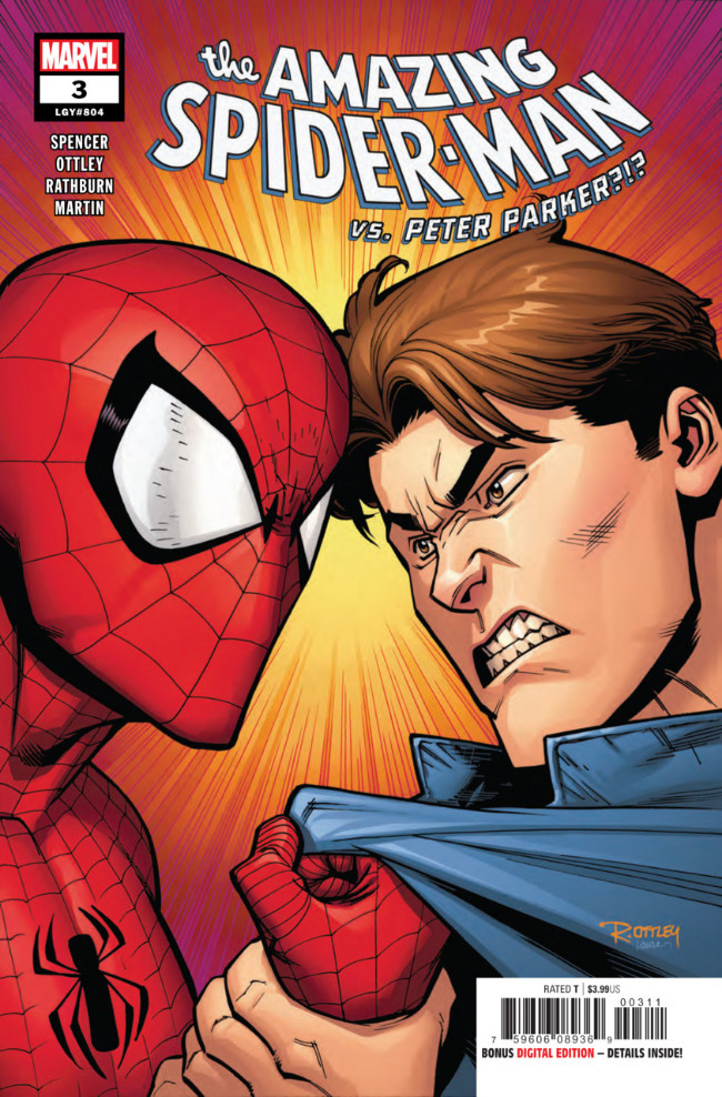 Couverture de Amazing Spider-Man (The) (2018) -3- Back To Basis Part 3