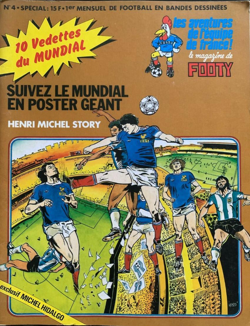 Couverture de Les aventures de l'équipe de France! -4- Henri Michel Story