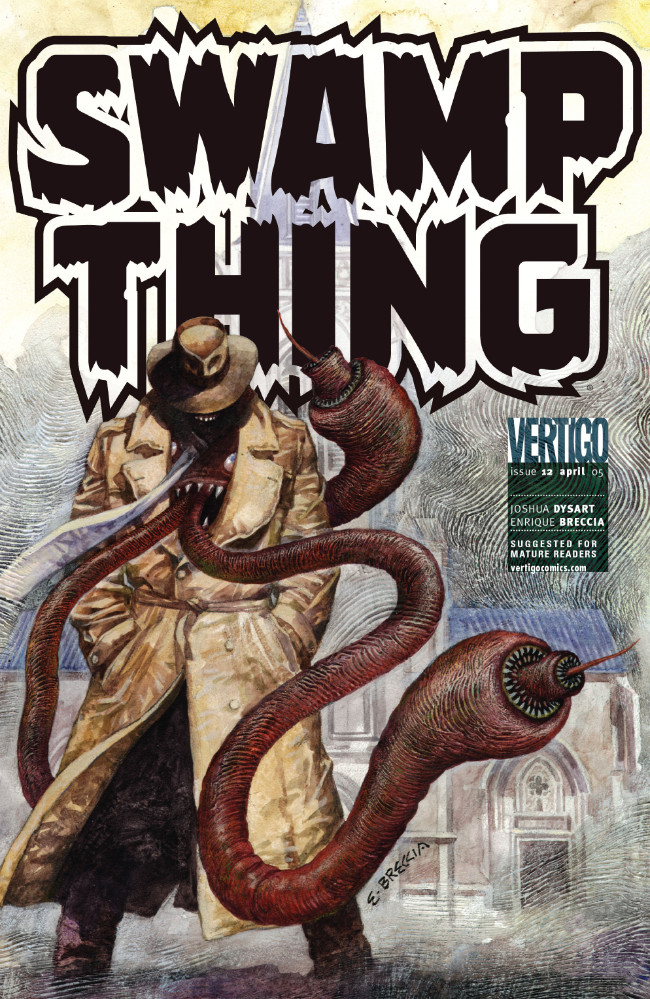 Couverture de Swamp Thing Vol.4 (DC comics - 2004) -12- (sans titre)